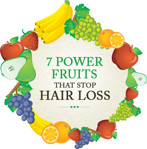 Natural fruits for hair growth