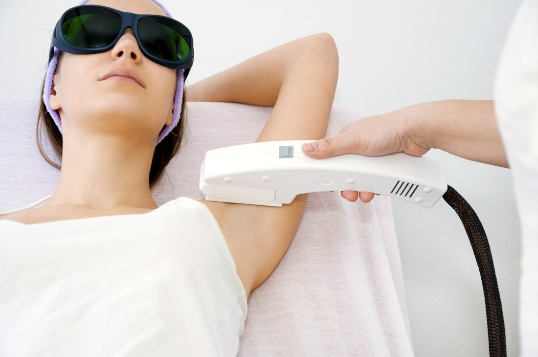 Benefits of laser hair removal - it's precise