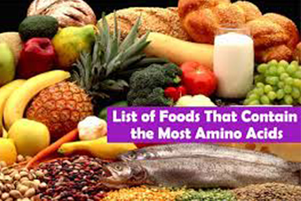 Essential amino acids - Vitamins, Proteins and Minerals