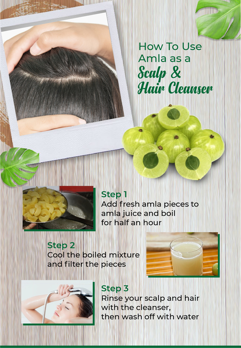 How To Use Amla As A Scalp & Hair Cleanser