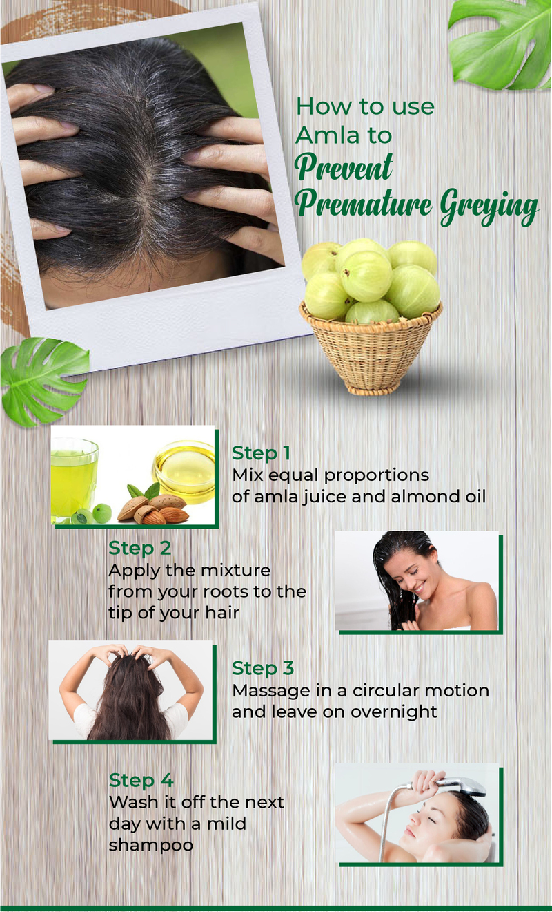 How To Use Amla To Prevent Premature Greying