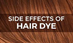 Side effects of hair dye