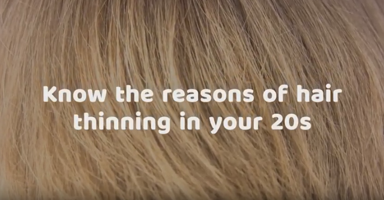 know the reasons of hair thinning in 20s