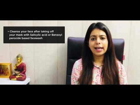 Video by Dr. Suby Arora on What is Mask Acne