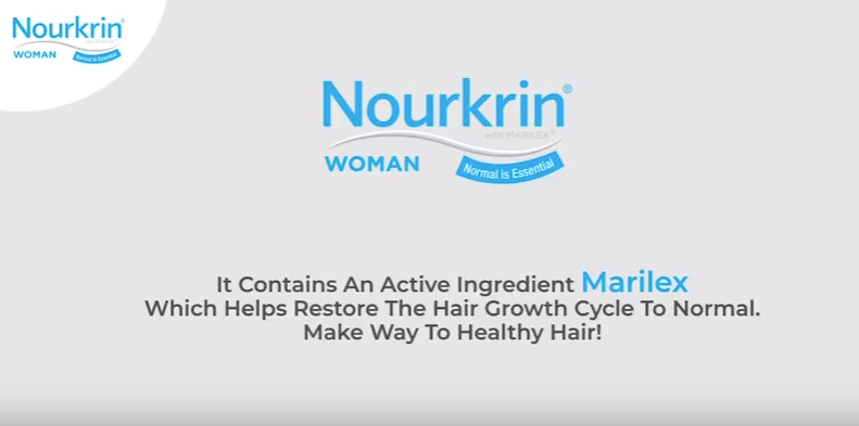 Nourkrin for all your hair fall problems