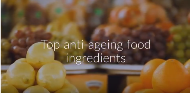 Top 10 best anti ageing food ingredients