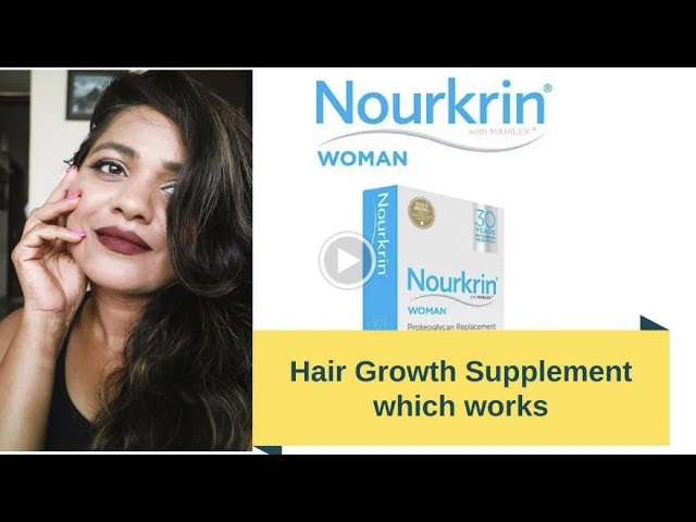 Hair Growth Supplement In India By Nourkrin  For Women