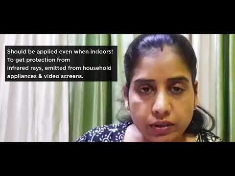 Video by Dr. Jaya Verma | Importance of Using Sunscreen
