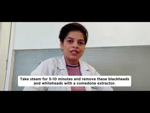 Available remedies and treatments for blackheads and whiteheads | Video by Dr. Farnaz