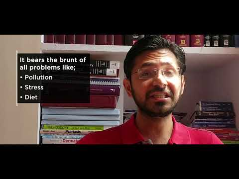Video by Dr. Rohit Garg on the Largest Organs of the Body - Skin