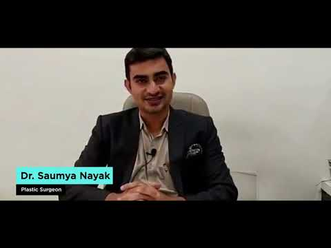 Video by Dr Saumya Nayak on Cosmetic Surgery,  Hair Transplant & Lasers
