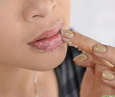 Keep your lips moisturised for that perfect pout