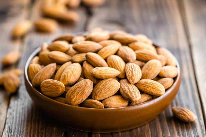 almonds for healthy skin