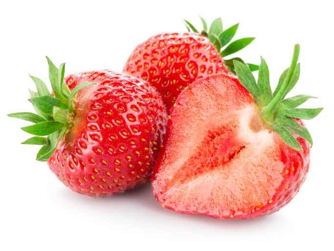 strawberries fro healthy skin