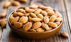 almonds for damaged hair