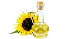sunflower oil for dry hair