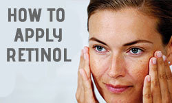 how to apply retinol
