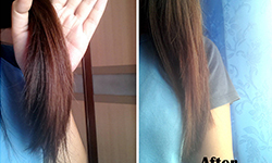 silicones in hair serum