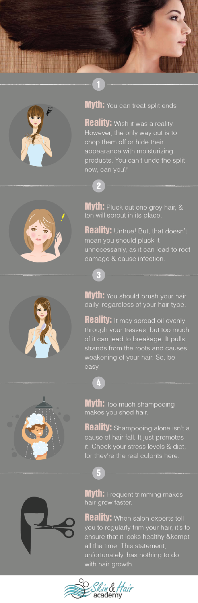 summer hair care myths