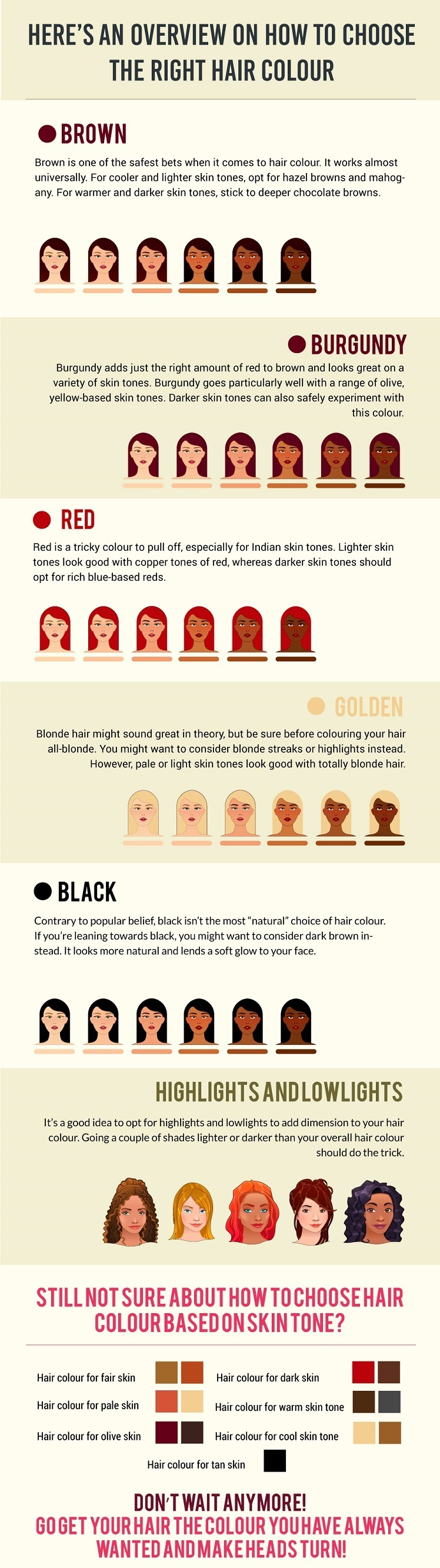 How To Choose Hair Color Based On Skin Tone